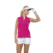 Polo piqué Sport sin mangas Gamegear® mujer