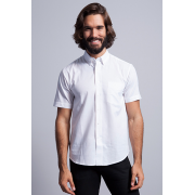 Camisa Oxford manga corta - Regular Shirt SS Oxford