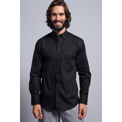 Camisa Poplin manga larga - Regular Shirt Poplin