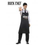 Delantal con peto Rock Chef